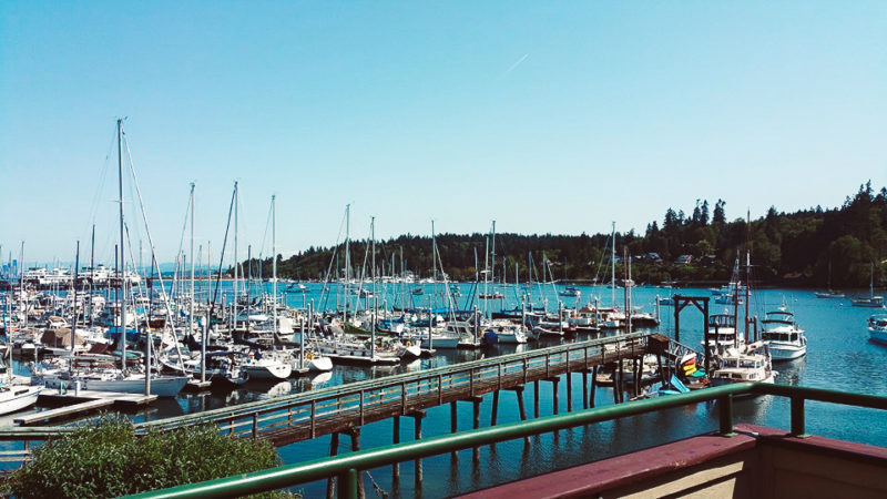 Views from Harbour Public House in Bainbridge