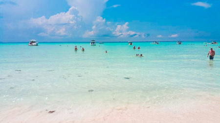 Playa Norte Beach in Isla Mujeres