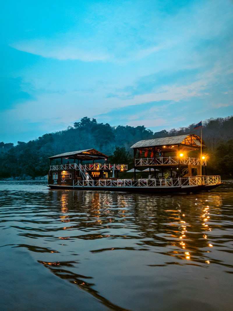 Sunset Dinner Cruise in Luang Prabang
