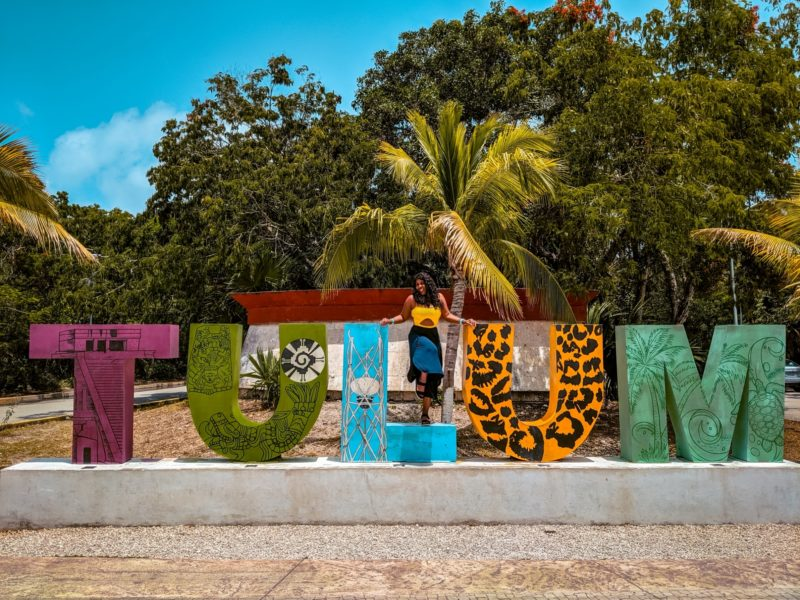 The Infamous Tulum Sign
