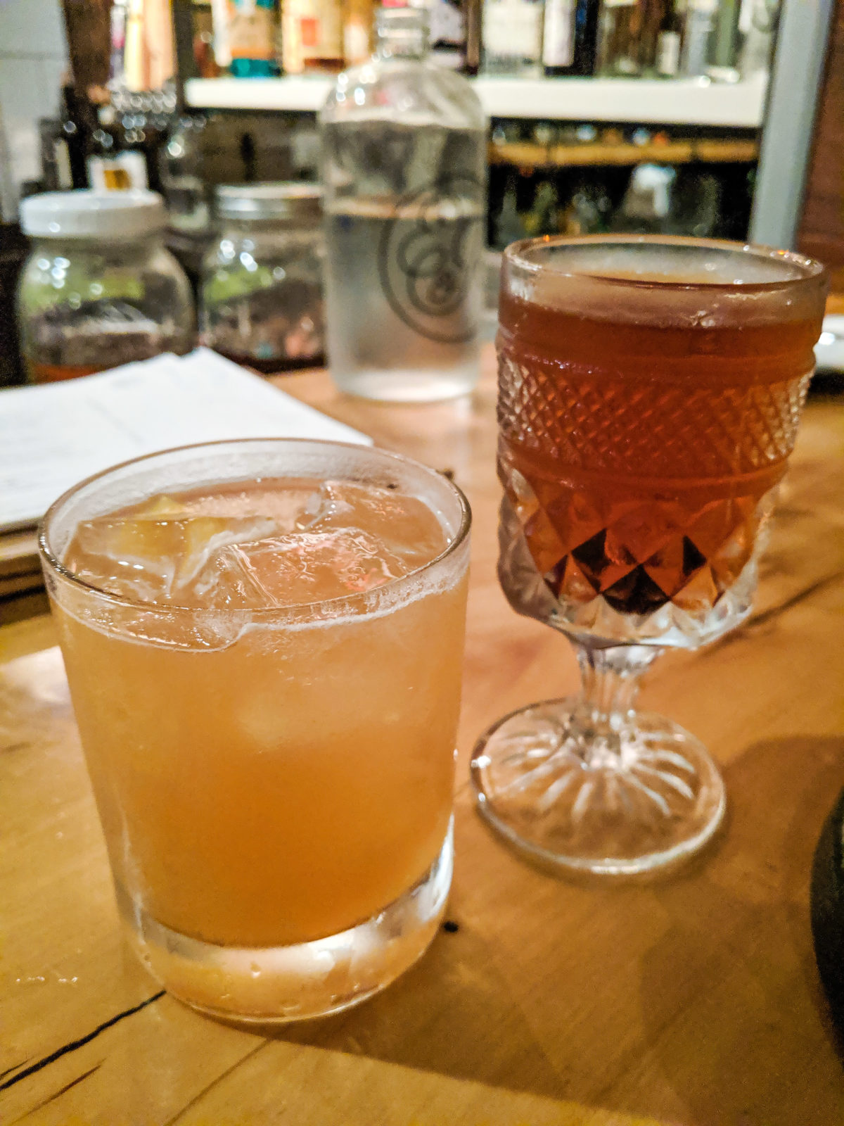 Cocktails at Emmer & Rye